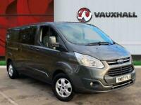 2017 Ford Transit Custom 310 2.0 TDCI 130PS L2 LOW ROOF LIMITED DOUBLECAB PANEL