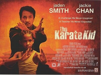 Karate Kid Film Poster - Jackie Chan, Jaden Smith - 30.5x40.6cm ()