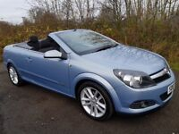 Stunner!! Vauxhall Astra Twintop **Convertible**70000 MILES**12 MONTHS MOT**F.S.H*Immaculate