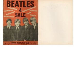 VINTAGE ORIGINAL COLLECTION OF BEATLES SHEET MUSIC $40 EACH Kambah Tuggeranong Preview