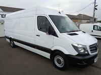 Mercedes-Benz Sprinter 313 CDI LWB 3.4T HIGH ROOF VAN DIESEL MANUAL WHITE (2014)