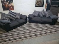 New Sofa Set 3 & 2 Seater ex display very comfy