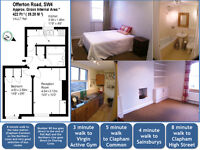 Beautiful 1 double bedroomed flat in Clapham Old Town