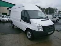Ford Transit T350 lwb High Roof 125ps DIESEL MANUAL WHITE (2013)