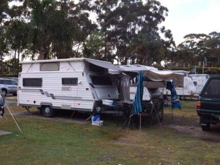 Coromal Seka  475 Pop Top Caravan 1993 Conjola Shoalhaven Area Preview