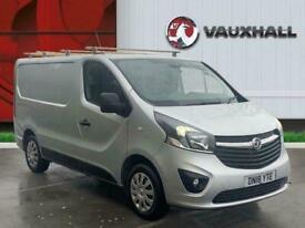 2018 Vauxhall Vivaro 1.6 Cdti 2900 Sportive Panel Van 5dr Diesel Manual L1 H1 Eu