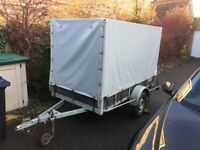 Large Covered Trailer - cover included