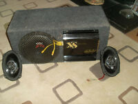 """SUBWOOFER COMPLETE WITH XS LIBERATOR 600w AND 2 9"""" SPEAKERS"""