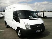 Ford Transit T350 2.2 Tdci 100PS HIGH ROOF EURO 5 AIR CON DIESEL MANUAL (2013)