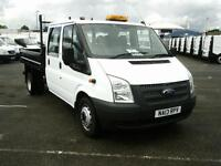 Ford Transit T350 D/Cab Chassis Tdci 100Ps [Drw] Euro 5 DIESEL MANUAL (2013)