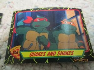 50 Teenage Mutant Ninja Turtles Cards