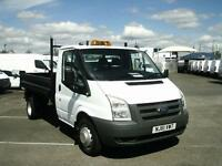 Ford Transit T350 MWB TIPPER TDCI 100PS S/CAB DIESEL MANUAL WHITE (2011)