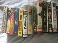 VHS VIDEO JOB LOT
