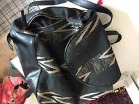 Aztec Print Rucksack Backpack