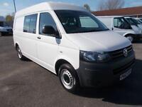 Volkswagen Transporter 2.0 Tdi 140Ps Kombi Van Dsg DIESEL AUTOMATIC WHITE (2012)