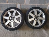 "Ford Fiesta 3 X 16"" Alloys"