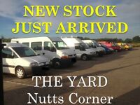 New Stock Just Arrived!!! Many New Vans on Site Nutts Corner