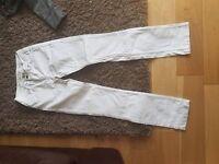Karen Millen white jeans