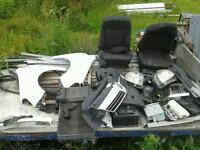 2008 astra van white Breaking all parts bumper doors exhaust