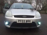 Ford Fiesta low mileage 12 months mot damaged spares or repair