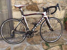 Kuota Kryon Dura Ace and rotor cranks Medium Road Bike. 1 week old like new. Bargain.