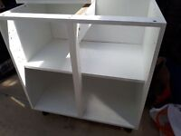 B&Q Cooke and Lewis Standard white wall and base units