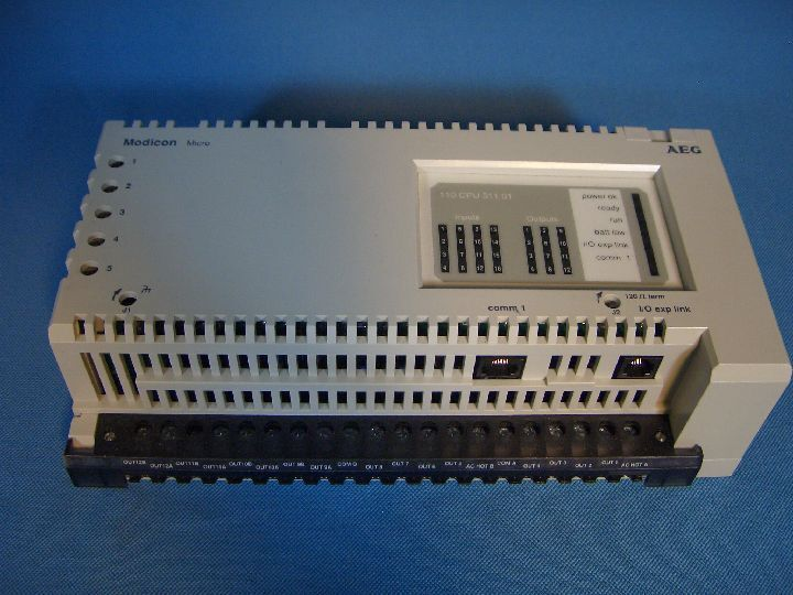 AEG Modicon Micro 110 CPU 311 01 Controller PLC