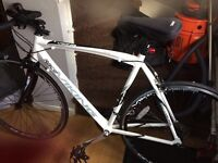 Racing bike brand new used once frame size 56cm