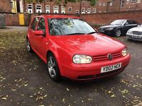 VW GOLF 1.9 GT TDI 150PD EXCLUSIVE 1 OWNER FROM NEW GOOD CONDITION
