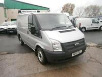 Ford Transit T280 swb Low Roof Van 100ps DIESEL MANUAL SILVER (2013)