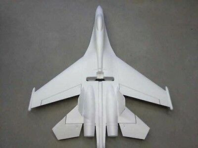 28in Sukhoi SU-27/35 720mm Wingspan EPO Pusher Jet Fighter RC Plane Unpainted