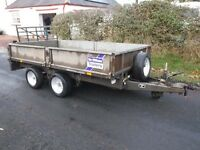 IFOR WILLIAMS LT105 FULLY SERVICED NEW BRAKES 10x5 DROP SIDE FLATBED 2005 MAIN DEALER PX BARGAIN