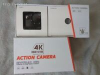 Original Elephone ELE CAM Explorer 4K Ultra HD Sports DV WiFi IP68 Waterproof Action Camera - black
