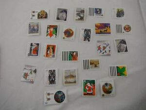 New, Assorted Vintage Christmas Stamps