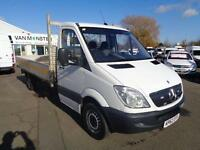 Mercedes-Benz Sprinter 313CDI LWB 3.5T DROPSIDE DIESEL MANUAL WHITE (2012)