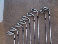 Full set of Mizuno MX-17 irons very good condition
