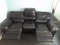 Leather Sofa Electric Folding