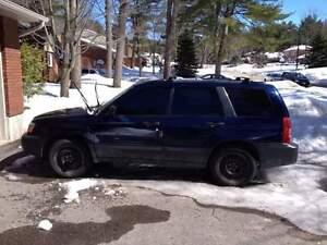 2005 Subaru Forester SUV, Crossover
