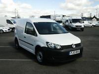 Volkswagen Caddy 1.6TDI 75PS VAN DIESEL MANUAL WHITE (2013)