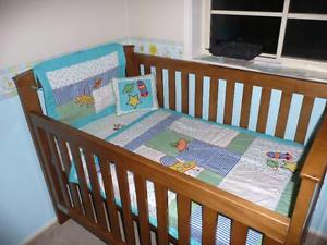 Tasman Eco Siena Cot toddler bed St Clair Penrith Area Preview