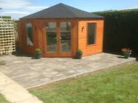 New high quality corner garden rooms summer houses and