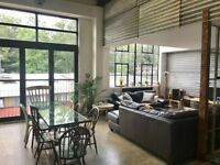 Spacious room to rent in converted warehouse in north London