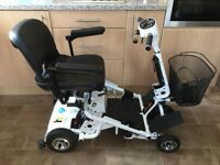 QUINGO AIR 2 ((LATEST MODEL)) MOBILITY SCOOTER DISMANTLES QUICKLY COST £3000 IMMACULATE