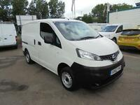 Nissan Nv200 1.5 Dci 89 Se Van DIESEL MANUAL WHITE (2012)