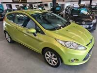 Ford Fiesta ZETEC SPEC-3DR-GREEN-PERFECT 1ST CAR-NEW MOT