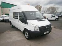 Ford Transit T350 lwb High Roof Van 100ps Mess Van DIESEL MANUAL WHITE (2012)