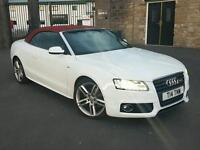 Audi A5 2.0 TDI S Line Convertible Special Edition with full service history
