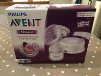 Philips Avent Comfort Single Electric Breast Pump BRAND NEW