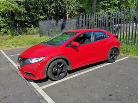 Honda Civic - 2012 - Red - 40K Miles - Lady Owner - FHSH - Recently Serviced and Motd