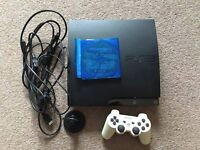 PS3 120gb + Official Bluetooth headset + Games
